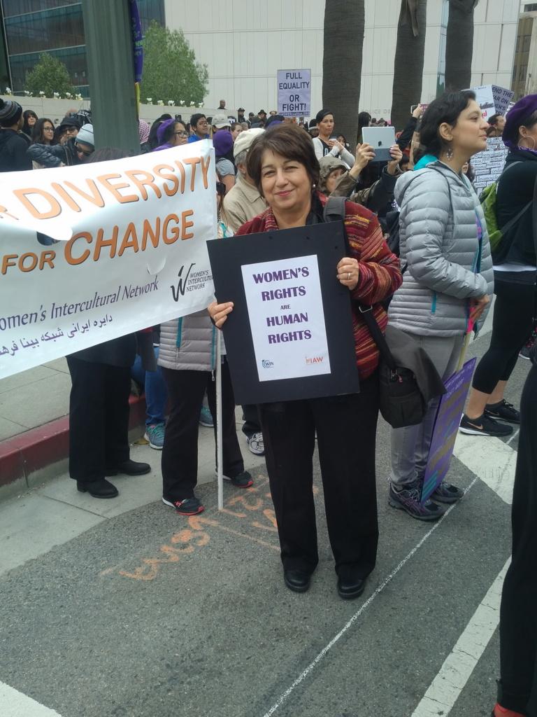 2017 – Women's March – Los Angeles