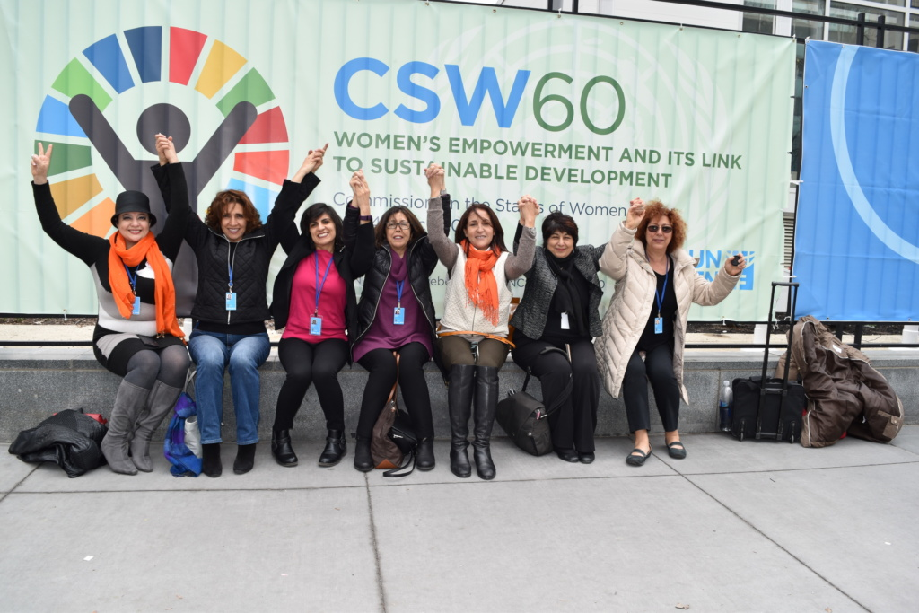 2016 – ICWIN Delegation To UN CSW – New York