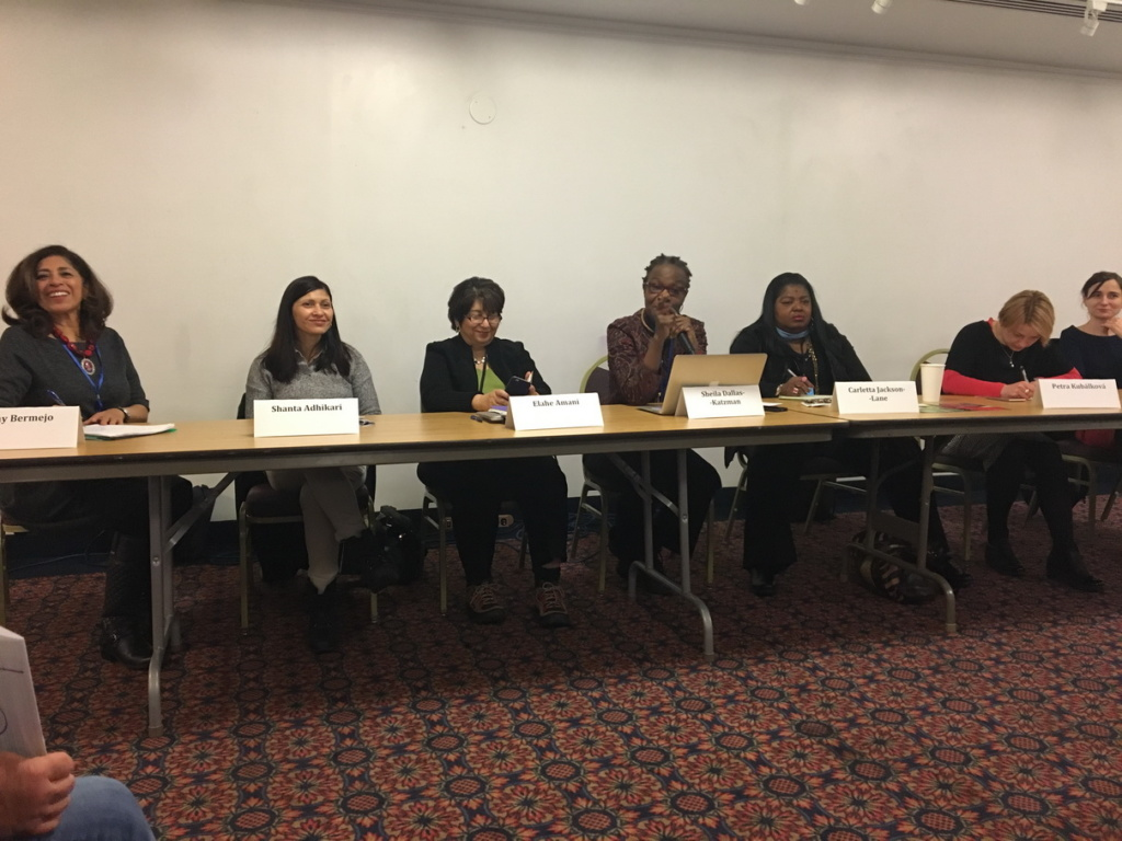 2017 – ICWIN Delegation To UN CSW – New York