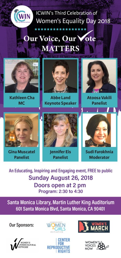 2018 – Women's Equality Day – Los Angeles