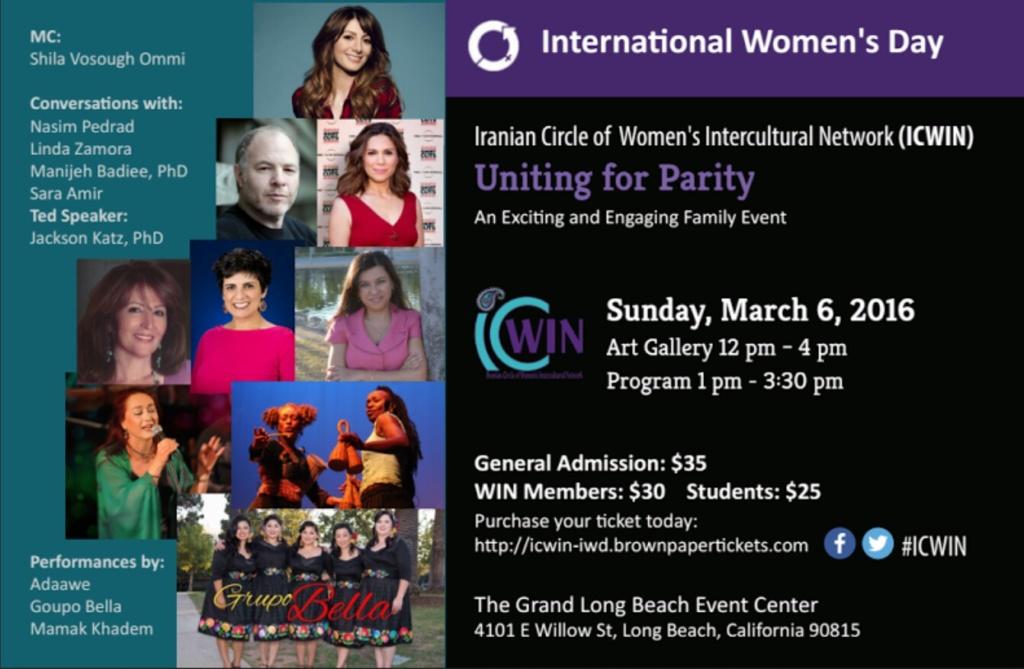2016 – ICWIN International Women's Day